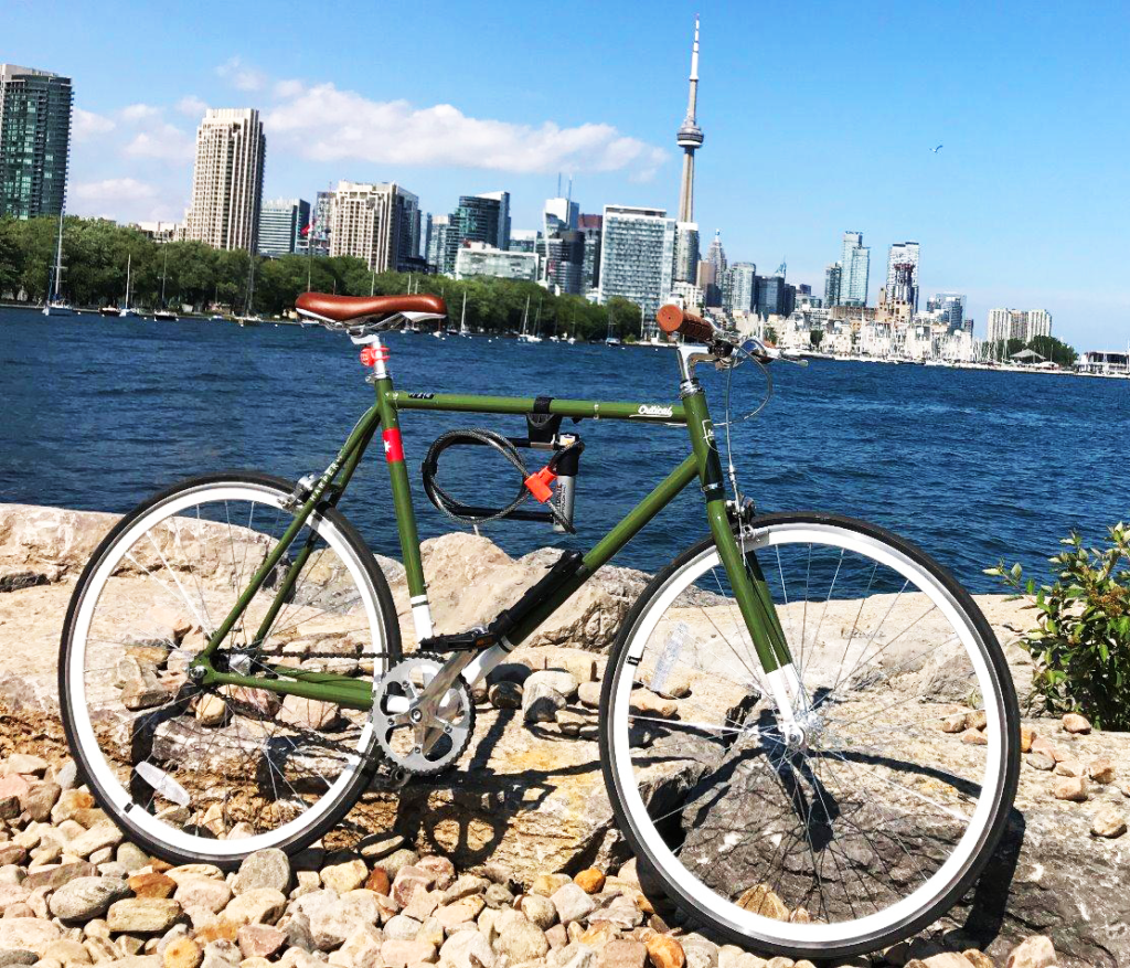 An image showing the Harper fixie in Toronto