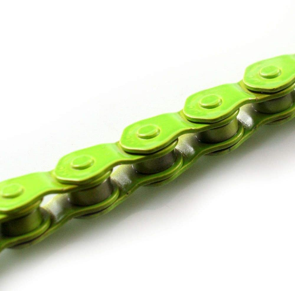 An image of the KMC HL710 Fixie Chain links.
