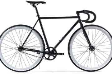 A product image of the State Cycle Deep V wheels on a demo bike