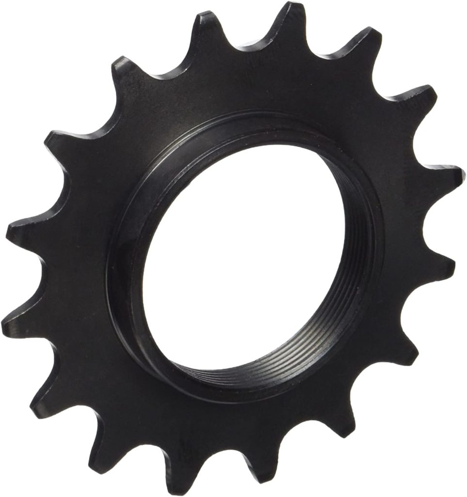 The shimano fixie cog, intended to show off the product for a review of the best fixie cogs.
