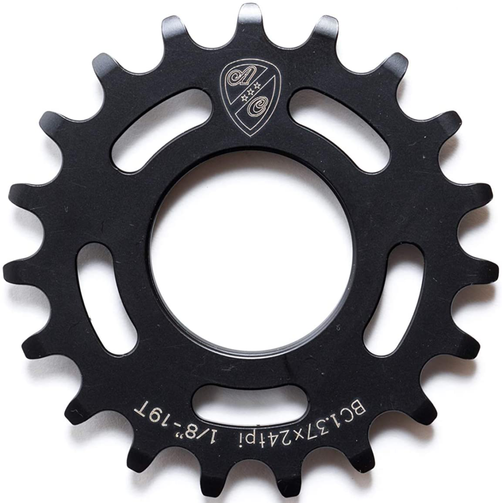 An image of the All-city fixie cog showing off the product for a list of the best fixie cogs on the market.
